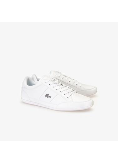 Lacoste Erkek Chaymon Bl 1 Sneakers 737CMA0094.21G Beyaz